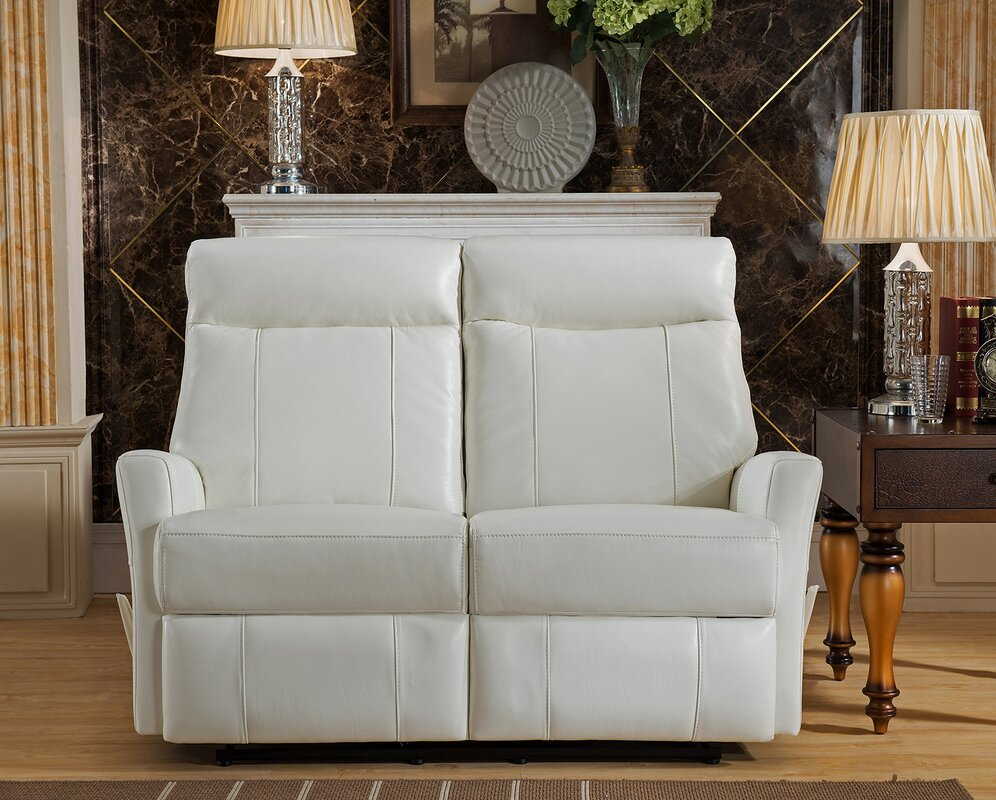 Toledo 2 Piece Leather Living Room Set