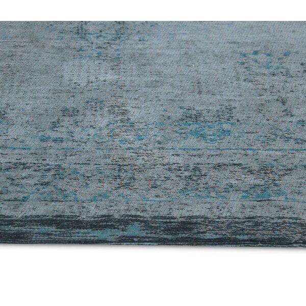 Louis De Poortere Fading World 8256 Grey Turquoise Area Rug Wayfair Co Uk