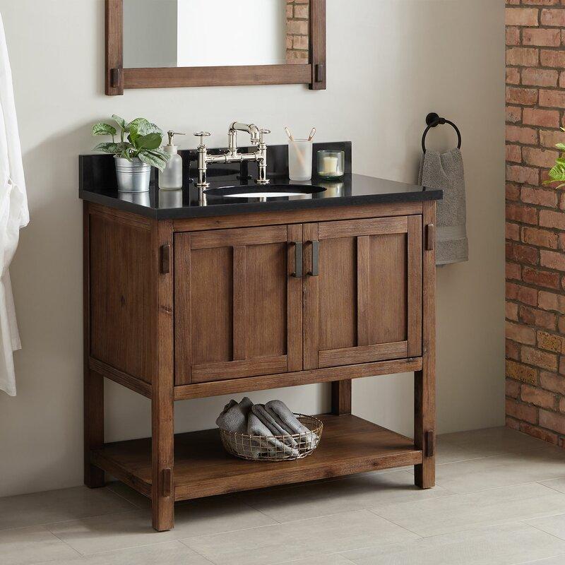 Signature Hardware Morris 37 Single Bathroom Vanity Set Wayfair