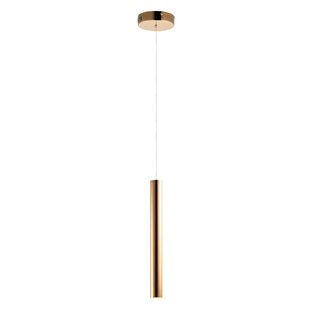 Orren Ellis Eatman 1-Light LED Cylinder Pendant
