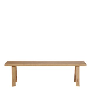 Annette Wood Dining Bench By Gracie Oaks