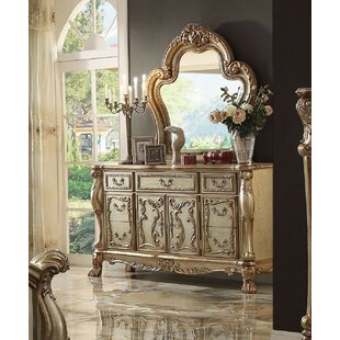 Selma 7 Drawer Combo Dresser with Mirror