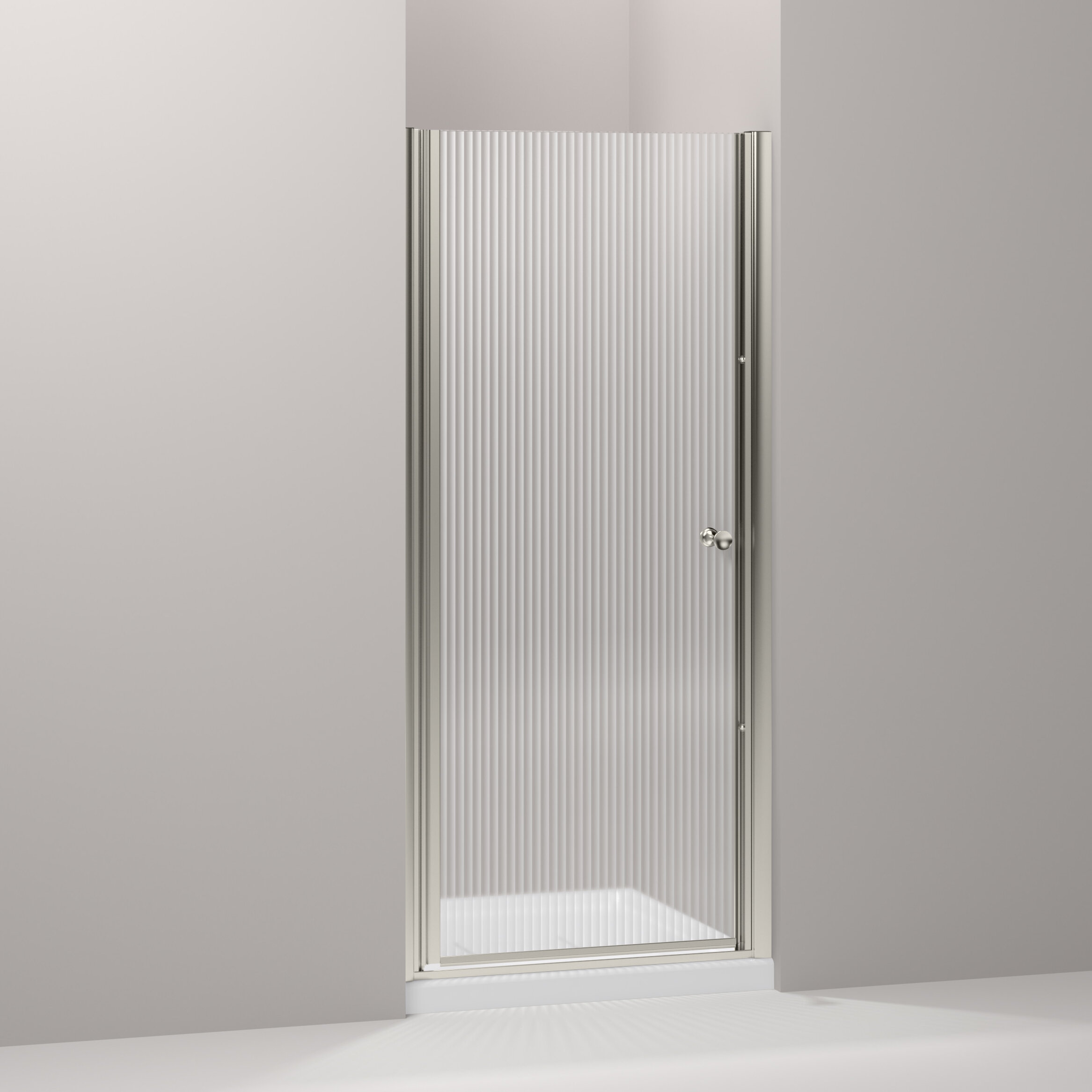 Fluence 31 5 X 65 5 Pivot Shower Door With Cleancoat Technology