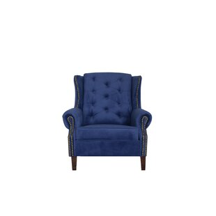 Creeksville Wingback Chair And Footstool By ClassicLiving