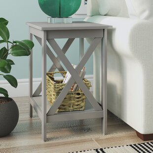 Maddy Rectangular End Table by Highland Dunes