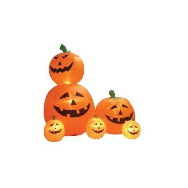 Halloween Pumpkin Animation | The Holiday Aisle Halloween Inflatable Animated Pumpkins Decoration