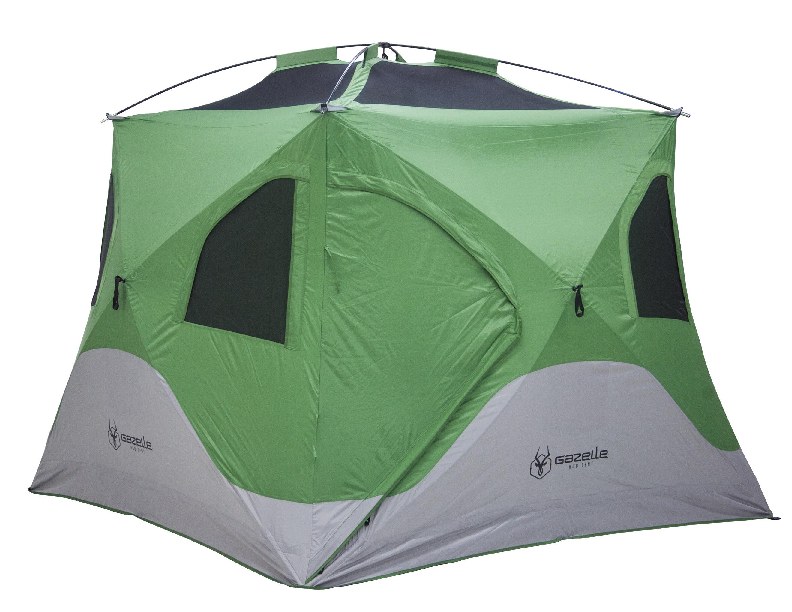 sc 1 st  Wayfair & Gazelle Pop Up Portable Camping Hub 4 Person Tent   Wayfair
