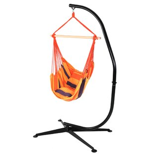 Freeport Park Anton Cotton and Polyester Chair Hammock with Stand