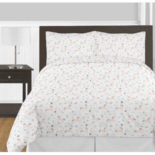 unicorn 3 piece full queen comforter set - Unicorn Bedding