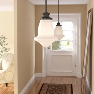 Stokes 1-Light Stokes Pendant by Three Posts