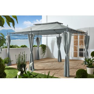 Holl 4m X 3m Steel Patio Gazebo By Sol 72 Outdoor