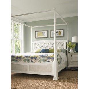 Ivory Key Canopy Bed