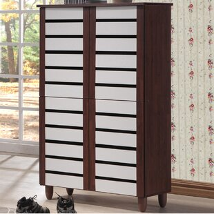 Brydon 18 Pair Shoe Storage Cabinet