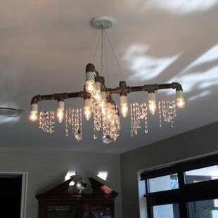 17 Stories Everardo 12-Light Candle Style Chandelier
