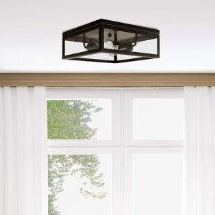 Globe Electric Company Memphis 2-Light Flush Mount