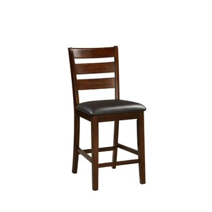 Hoerner Wooden Armless 24 Bar Stool (Set of 2) Charlton Home