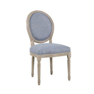 Antonella Round Back Upholstered Dining Chair by Gracie Oaks SKU:EE550362 Check Price
