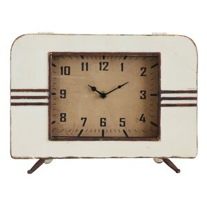Collected Notion Metal Mantel Clock
