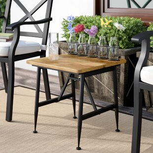 Frankston Outdoor Wood Accent Table