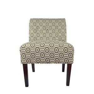 Samantha Button Tufted Cott-Ashton Slipper Chair by MJL Furniture