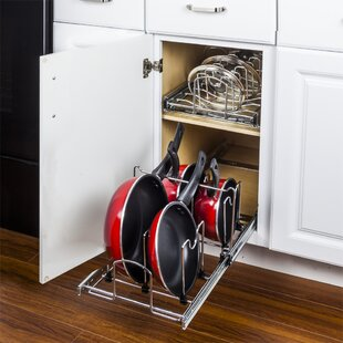 Comparison Pots and Pans Drawer Organizer ByHardware Resources