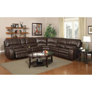 Brydon Reclining Sectional Loon Peak