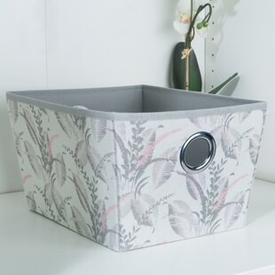 Price Check Fabric Cube or Bin By Laura Ashley