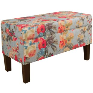 Upholstered Storage Storage Bench by Alcott Hill