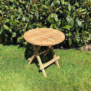 Littlehampt Folding Teak Side Table By Sol 72 Outdoor