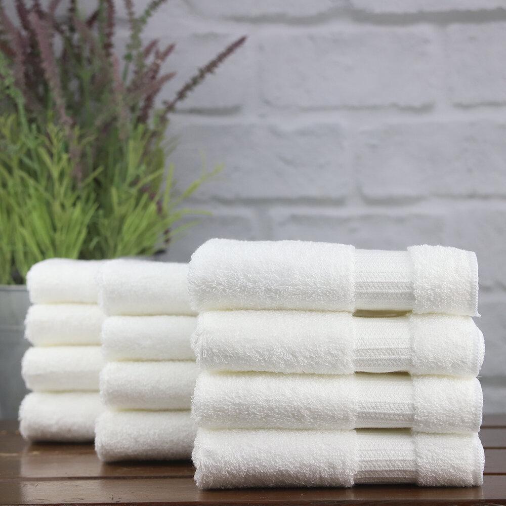1888 Mills Green Threads 300 Piece 100 Cotton Washcloth Towel Set Wayfair
