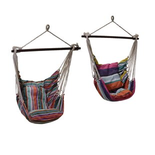 Free S&H Vick Hanging Chair (Set Of 2)