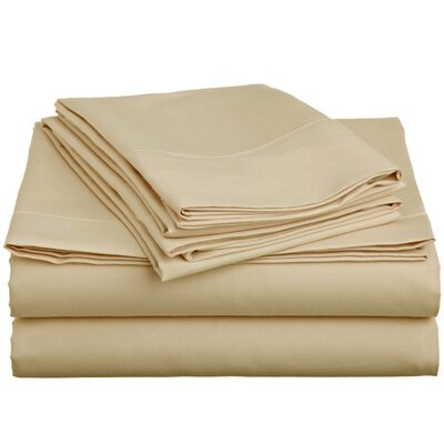 Off To Bed 6 Piece Comfort Deep Pocket Sheet Set Size: King, Colour: Cream