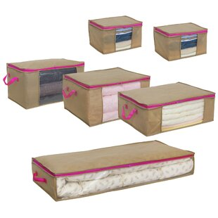 Bargain Tilda 6 Piece Underbed Storage Set By Andover Mills