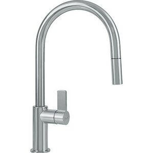 Franke Ambient Single Handle Deck Mounted Kitchen Faucet with Pull Down Spray