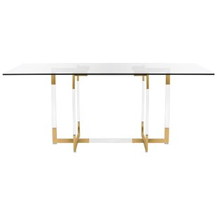 Crigger Glass Dining Table by Mercer41