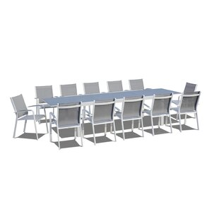 Extendable 13 Piece Dining Set