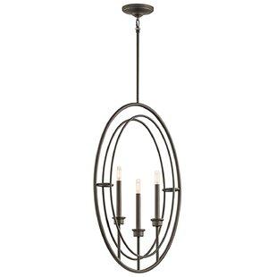 Brayden Studio Corchado 3-Light Globe Pendant