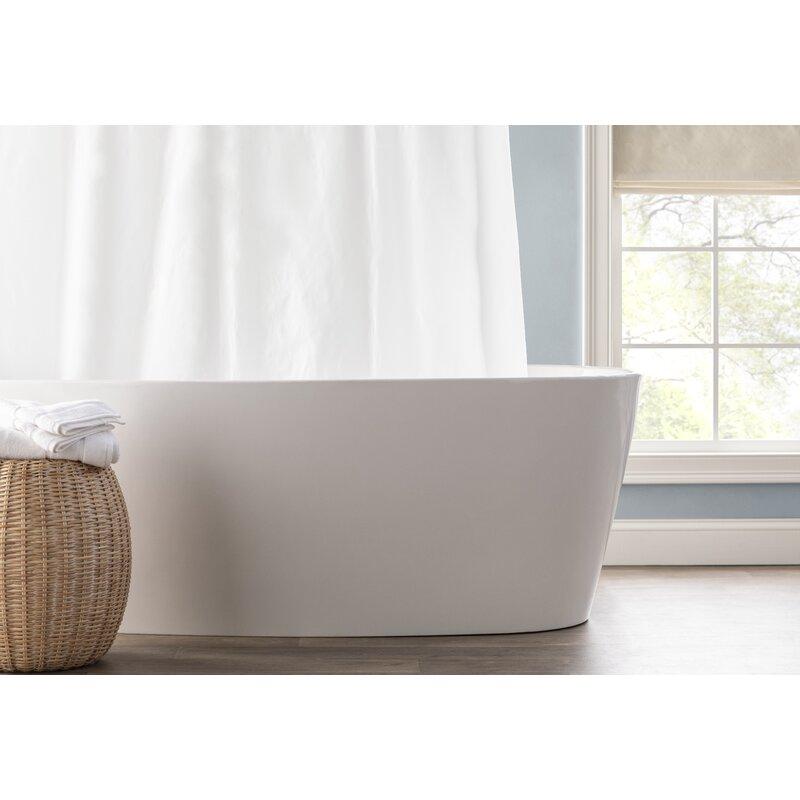 Spa Bath Works Mildew Resistant 100 PEVA Single Shower Curtain Liner