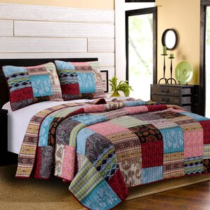 Quilts & Coverlets You'll Love | Wayfair : what is a quilt set - Adamdwight.com