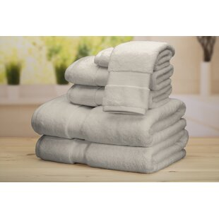 Good Hope 6 Piece Turkish Cotton Towel Set By Eider & Ivory
