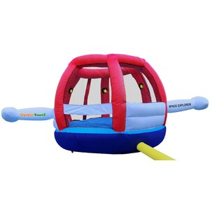 Inflatable Space Explorer Jump N' Lit Bounce House
