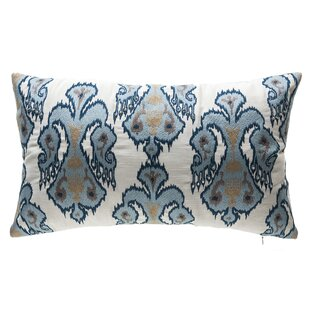 Indigo Tribal Outdoor Lumbar Pillow