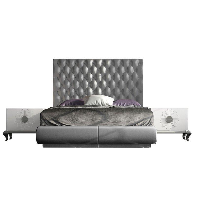 Everly Quinn Jerri Standard 3 Piece Bedroom Set Wayfair