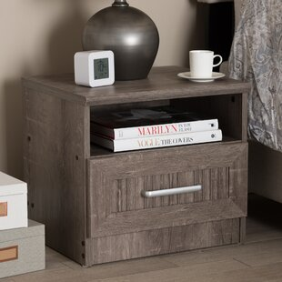Teixeira 1 Drawer Nightstand