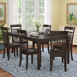 Lindstrom 7 Piece Dining Set Red Barrel Studio