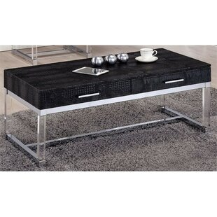 Best Fugate Coffee Table with Storage By Everly Quinn