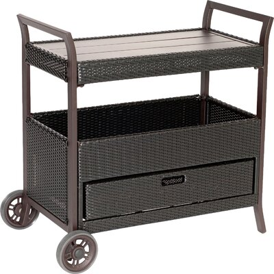 Duell Bar Serving Cart by Red Barrel Studio Today Only Sale