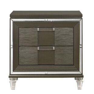 Comparison Gilmore 2 Drawer Nightstand by Mercer41