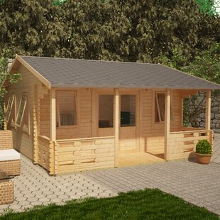 Sigma 20 X 18 Ft. Tongue And Groove Log Cabin By Tiger Sheds