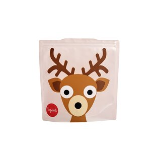 3 Sprouts Deer Sandwich Bag (Set of 2)
